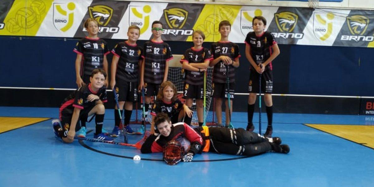 Mladší žáci vyrazili na první ligové turnaje