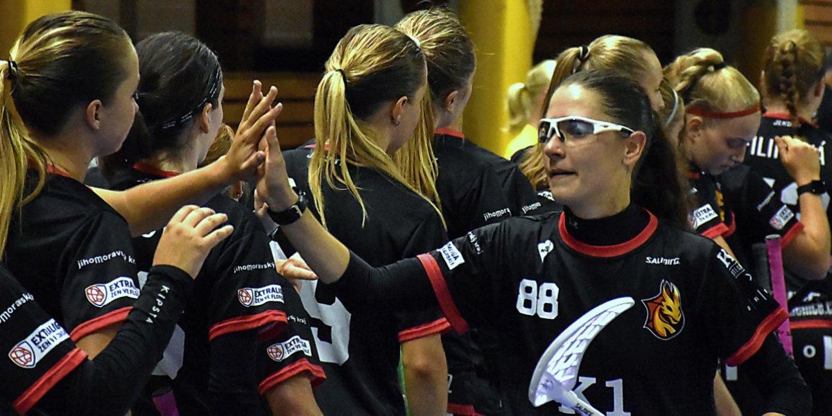 Židenice ve 3. kole porazily nováčka Extraligy žen