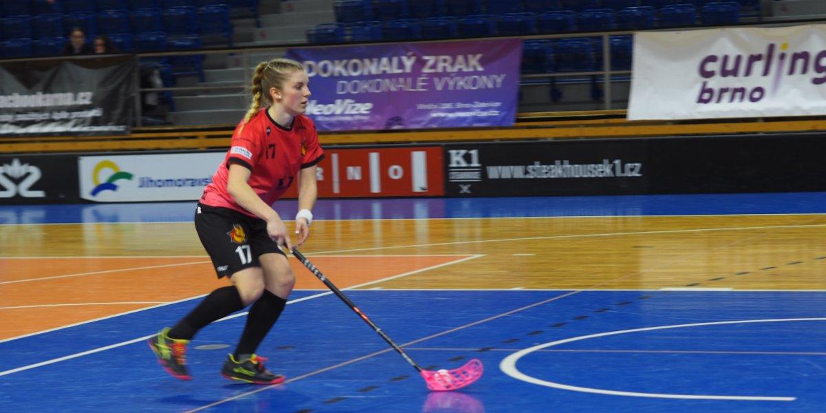 Hrát Extraligu byl můj sen a zatím si ho úspěšně plním, hlásí nejlepší hráčka měsíce Lucie Romančáková