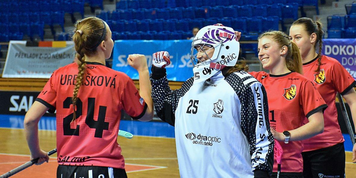 Jsem pyšná na celý tým, říká v rozhovoru nejlepší hráčka dubna Lenka Remešová